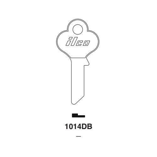 Ilco 1014DB Key Blank : Eagle Lock