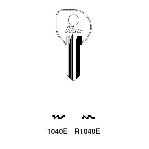Ilco R1040E Key Blank : Clum Inboard Motors, Mercury, Mariner Outboards