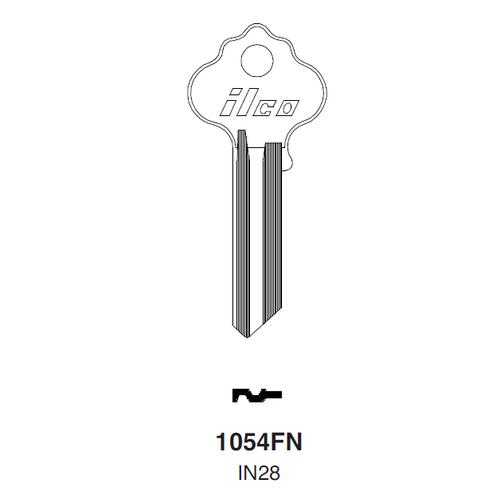 Ilco 1054FN, IN28 Key Blank : Ilco