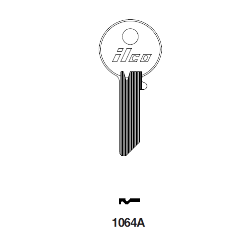 Ilco 1064A Key Blank : National Cabinet