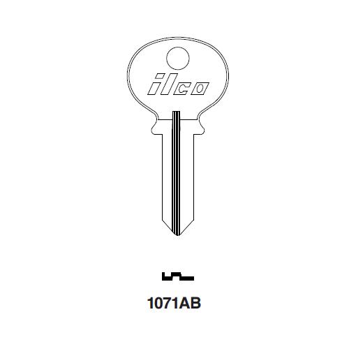 Ilco 1071AB Key Blank : Wilson Bohannon