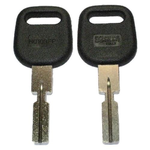 Ilco  HU109FP  Plastic Head Key Blank