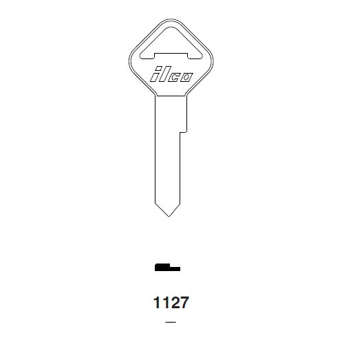 Ilco 1127 Key Blank : Ford