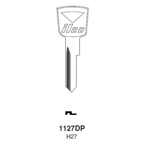 Ilco 1127DP (H27) Key Blank : Ford