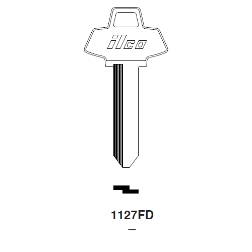 Ilco 1127FD Key Blank : Ford