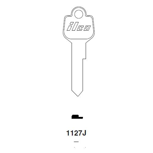 Ilco 1127J Key Blank : Ford