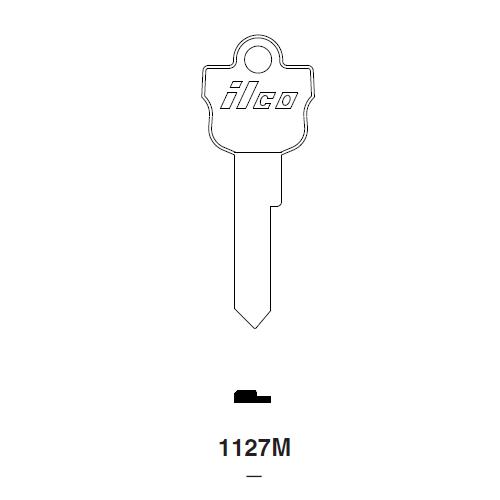 Ilco 1127M Key Blank : Ford