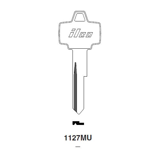 Ilco 1127MU Key Blank : Ford