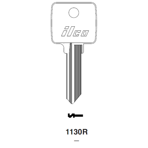 Ilco 1130R Key Blank : Arco