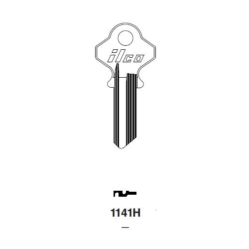 Ilco 1141H Key Blank : Taylor