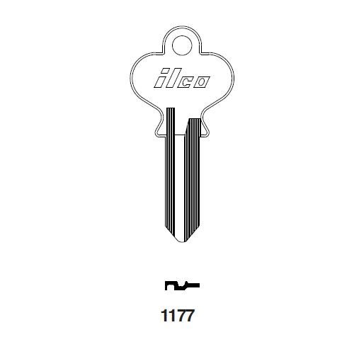 Ilco 1177 Key Blank : National EZ Set