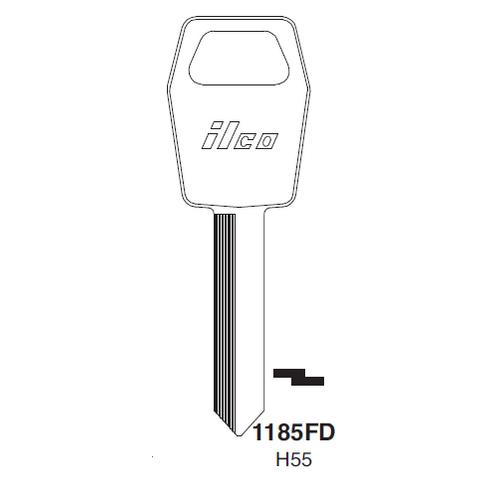 Ilco 1185FD (H55) Key Blank : Ford