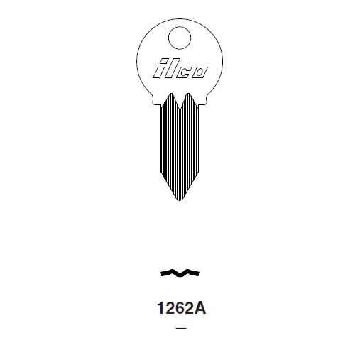 Ilco 1262A Key Blank : Mercury, Mariner Outboards