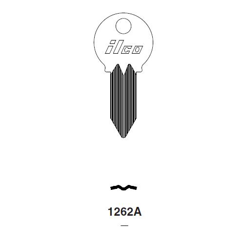 Ilco 1262A Key Blank : Mercury, Mariner Outboards