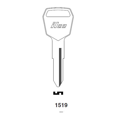 Ilco 1519 Key Blank : Komatsu