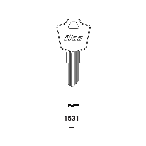 Ilco 1531 Key Blank : Esp | North American