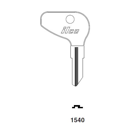 Ilco 1540 Key Blank : Kubota
