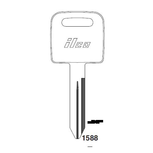 Ilco 1588 Key Blank : Freightliner