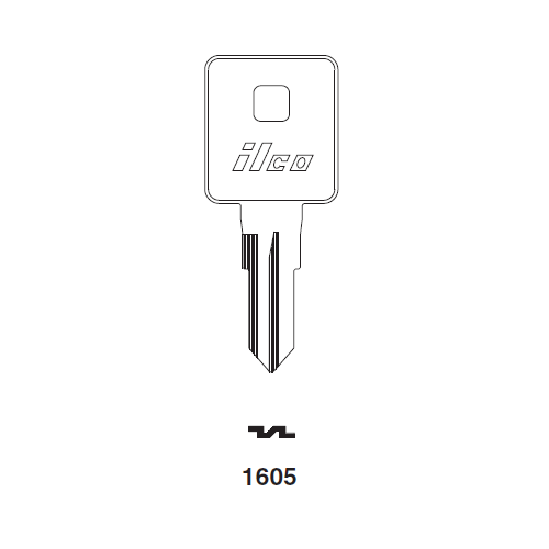 Ilco 1605 Key Blank : Tool Box