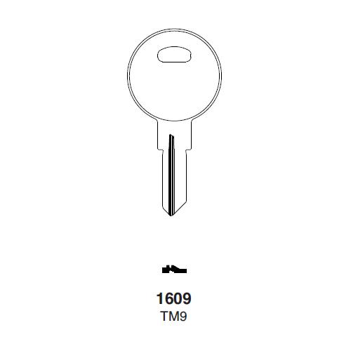 Ilco 1609, TM9 Key Blank : Trimark - 14472-07-2001