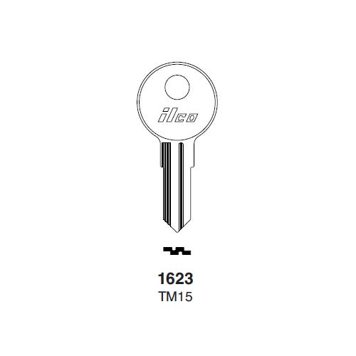 Ilco 1623, TM15 Key Blank : Trimark