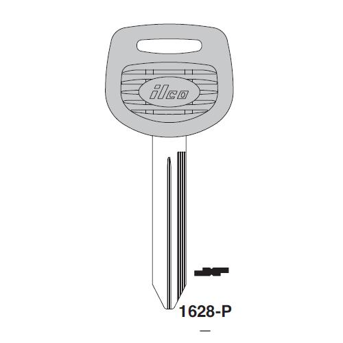 Ilco  1628-P Freightliner Plastic Head Key Blank