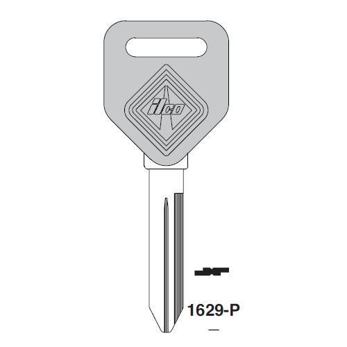 Ilco  1629-P Freightliner Plastic Head Key Blank