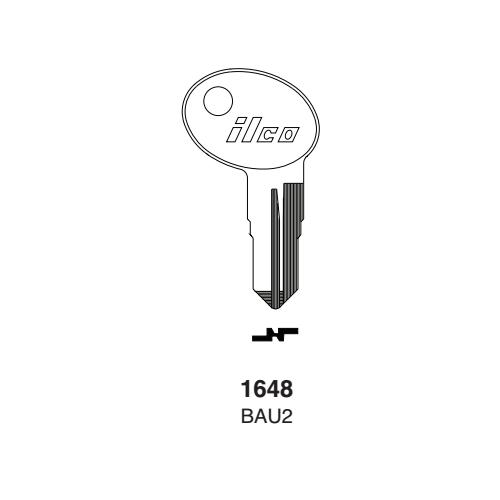 Ilco 1648, BAU2 Key Blank : Bauer