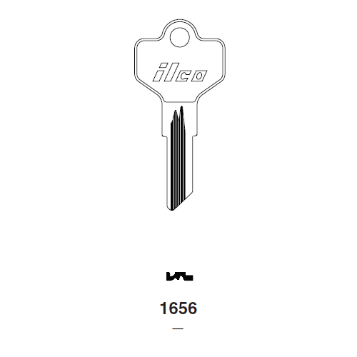 Ilco 1656 Key Blank : Kawasaki