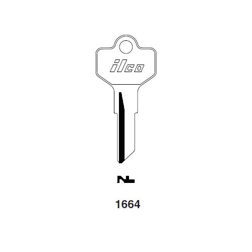 Ilco 1664 Key Blank : Cessna