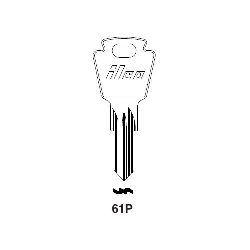 Ilco 61P Key Blank : Ford International, Simca, Talbot, Matra