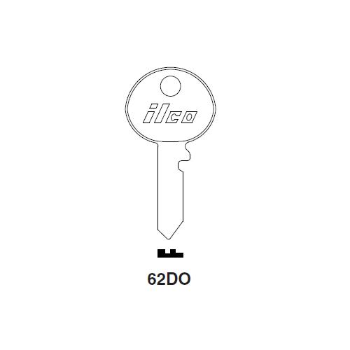 Ilco 62DO Key Blank : Raleigh Cycle