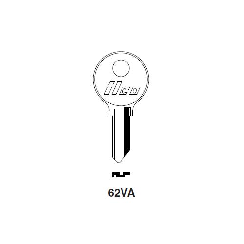 Ilco 62VA Key Blank : Ford International, Lambretta, Lancia, Mercedes Benz, Messerschmidt, Tempo, Vesper