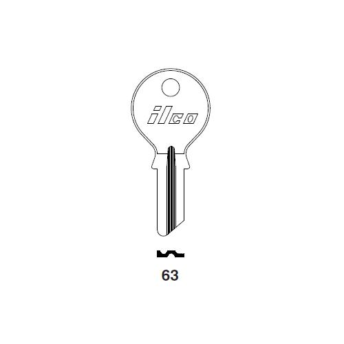 Ilco 63 Key Blank : DKW