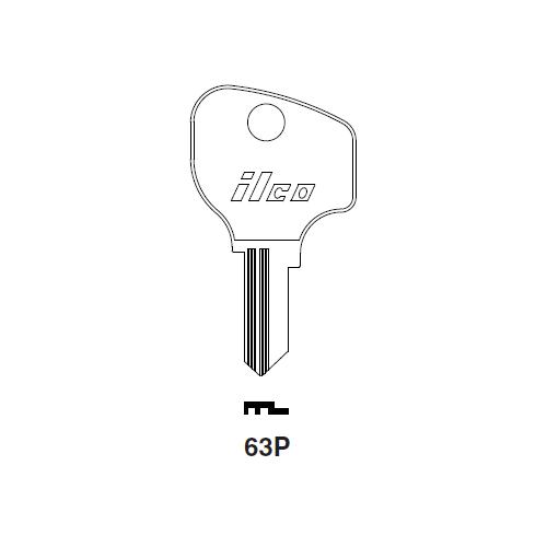 Ilco 63P Key Blank : Peugeot