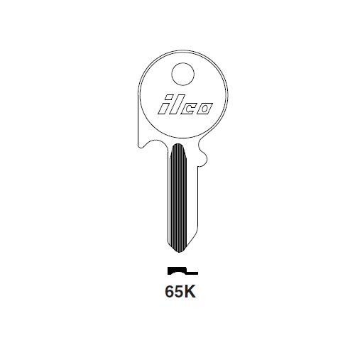 Ilco 65K Key Blank : Mercedes Benz