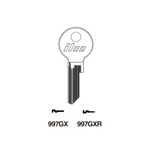 Ilco 997GXR Key Blank : Yale
