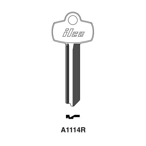 Ilco A1114R, 1A1R1 Key Blank : Best - 1A1R1