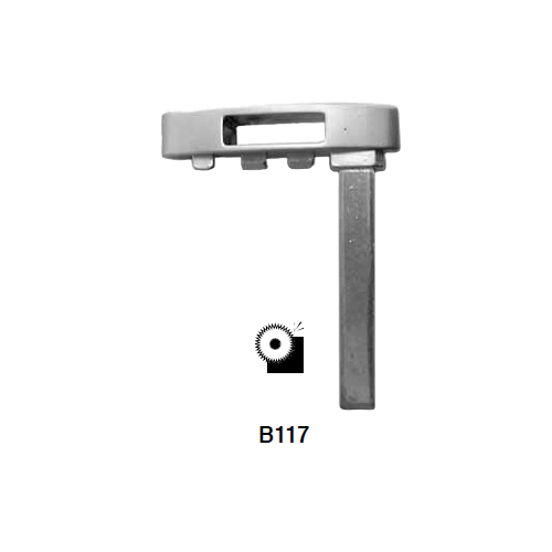 Ilco B117 Key Blank : GM Emergency