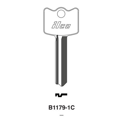 ILCO KEY BLANKS 1041FG ~ NEW LOT OF 37