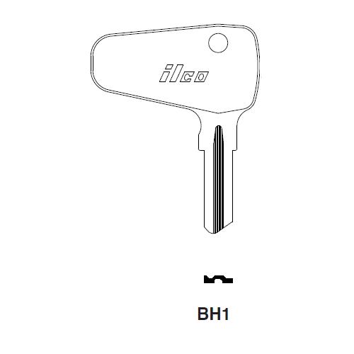Ilco BH1 Key Blank : Lloyd