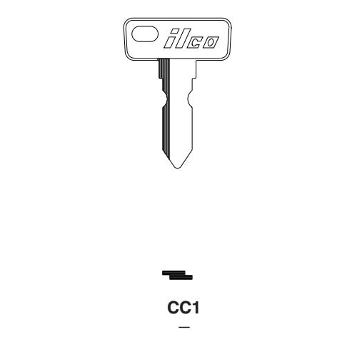 Ilco CC1 Key Blank : Golf Cart