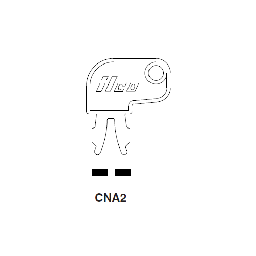 Ilco CNA2 Key Blank : Caterpillar