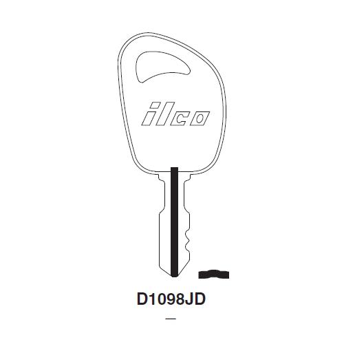 Ilco D1098JD Key Blank : John Deere