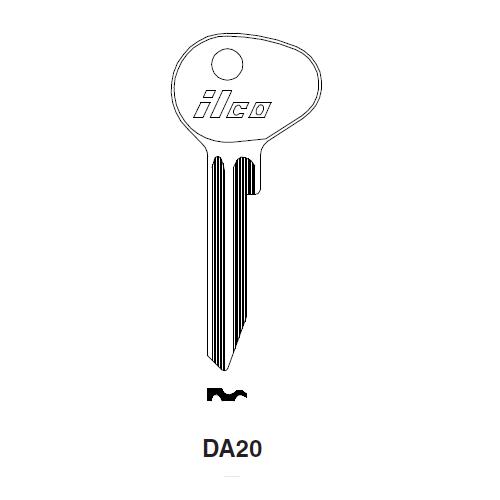 Ilco D80K (DA20) Key Blank : Mazda
