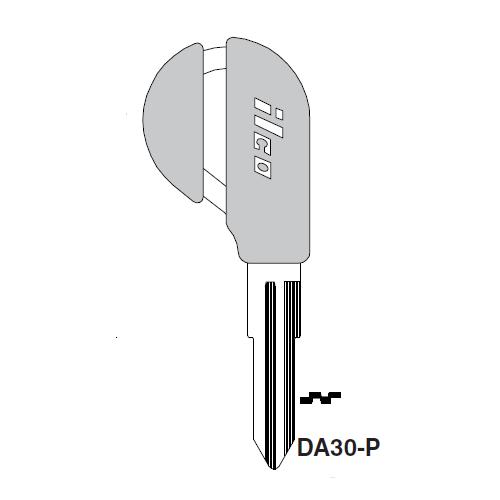 Ilco  DA30-P Nissan Plastic Head Key Blank; ( DA30,  X197 )