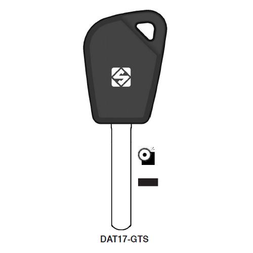 Ilco DAT17-GTS Chipless Key Blank; SUBARU