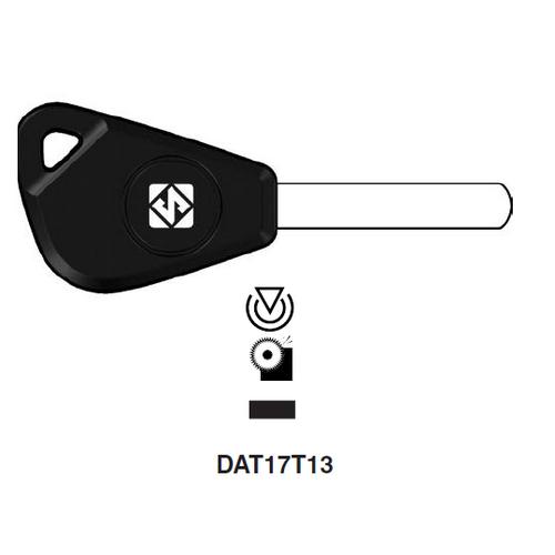 Ilco DAT17T13 Transponder Key Blank; Subaru