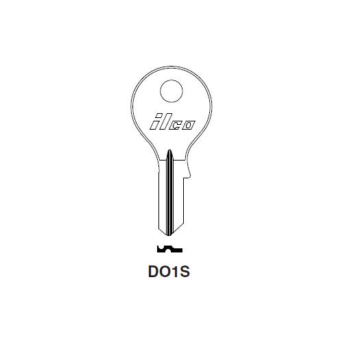 Ilco DO1S Key Blank : Dom, Vesper