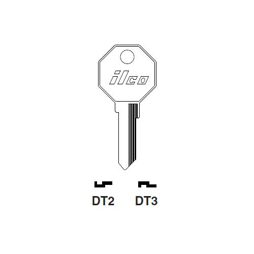 Ilco DT3 Key Blank : Nissan